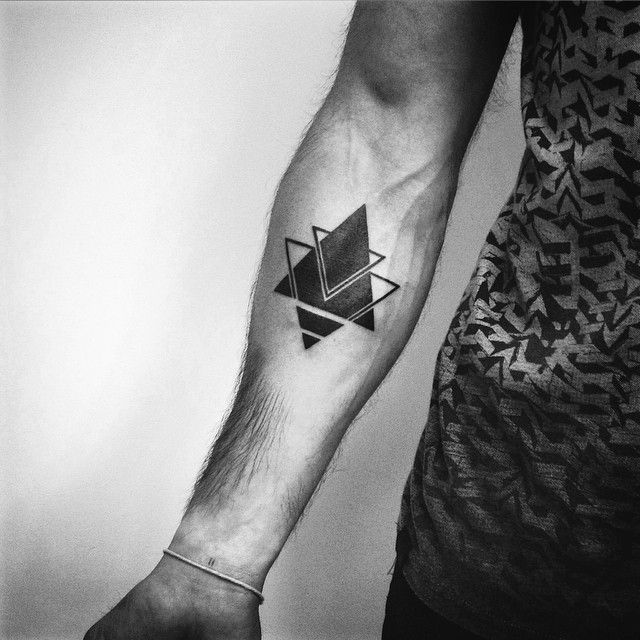 Best Geometric Tattoo - Special mental symbol of power for Denis (Barcelona). If...