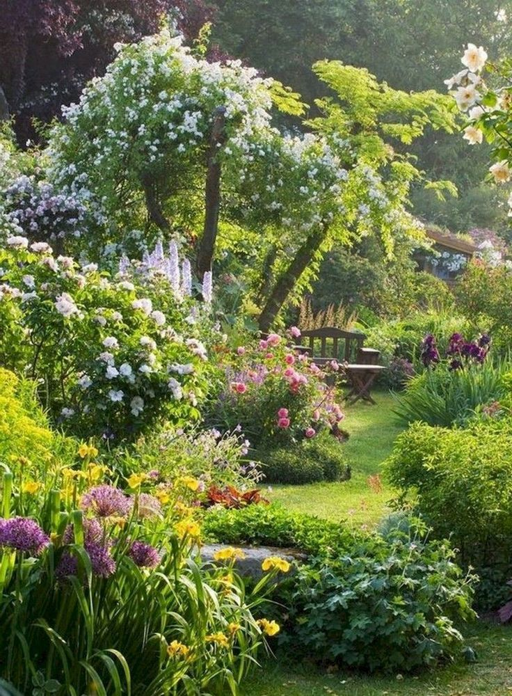 24 beautiful small cottage garden ideas for backyard inspiration