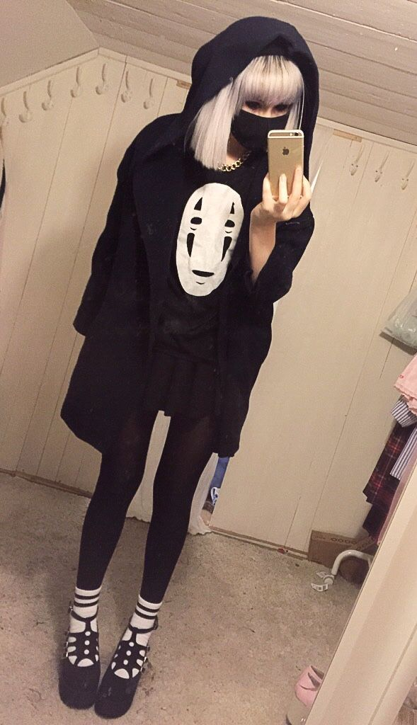 sweater sweatshirt black eye street goth goth pullover long sleeves shirt oversi...