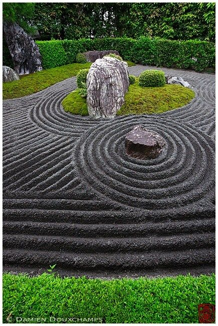 Mineral Zen Garden Design In Control | Zen Garden Designs & Ideas