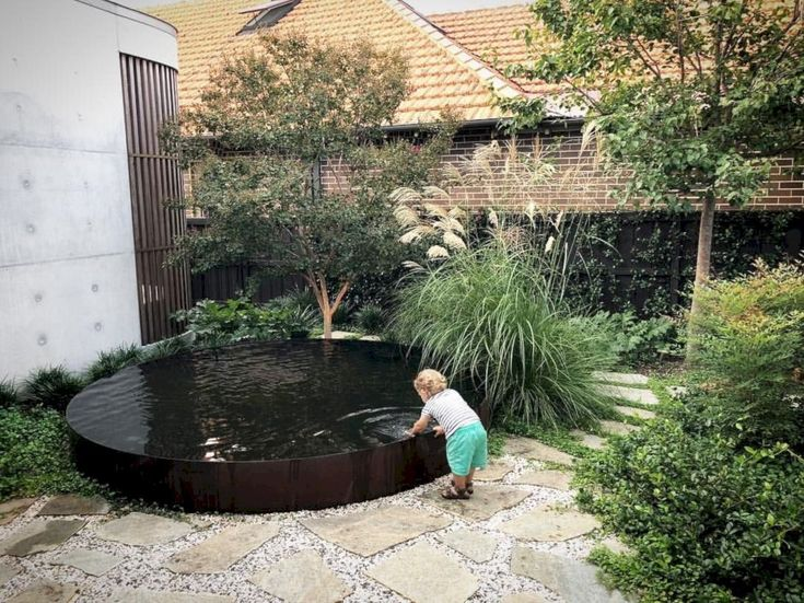 39 Amazing Townhouse Courtyard Garden Designs