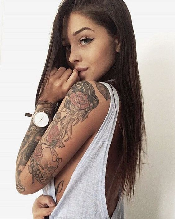 Beautiful girls tattoo idea - Kayla L. - #beautiful #Girls #idea #Kayla #Tattoo