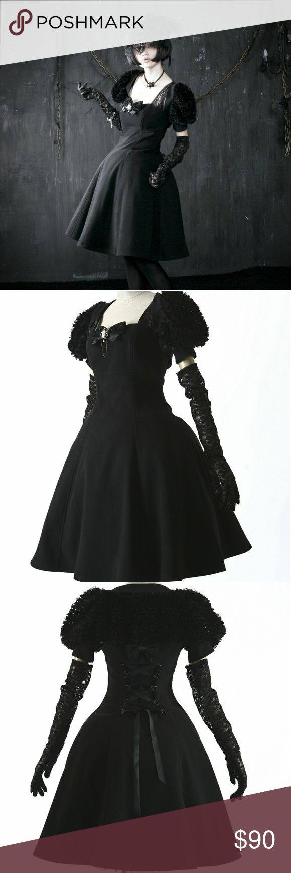 NEW Gothic Lolita Doll Dress Harajuku Goth Anime A perfect blend of sweetness an...