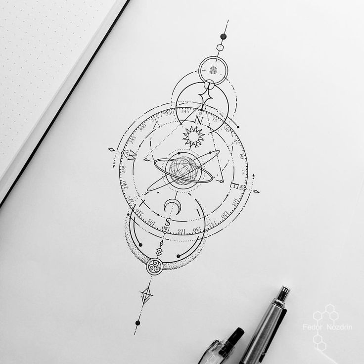 Tattoo Artist Fedor Nozdrin в Instagram: «Available design #universe #universe...