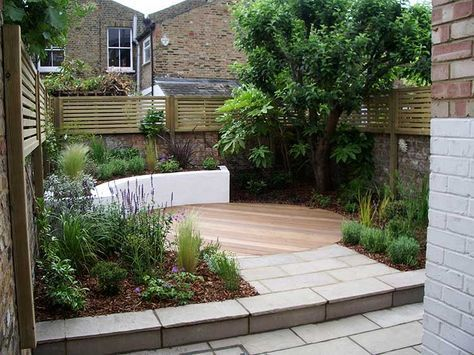 Garden Designer London - courtyard garden design London E2 - Jenny Bloom Garden ...