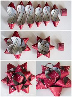 Geschenke Verpacken ✄ Gift Wrapping 🎁 Charlet's Website: Holiday paper bo...