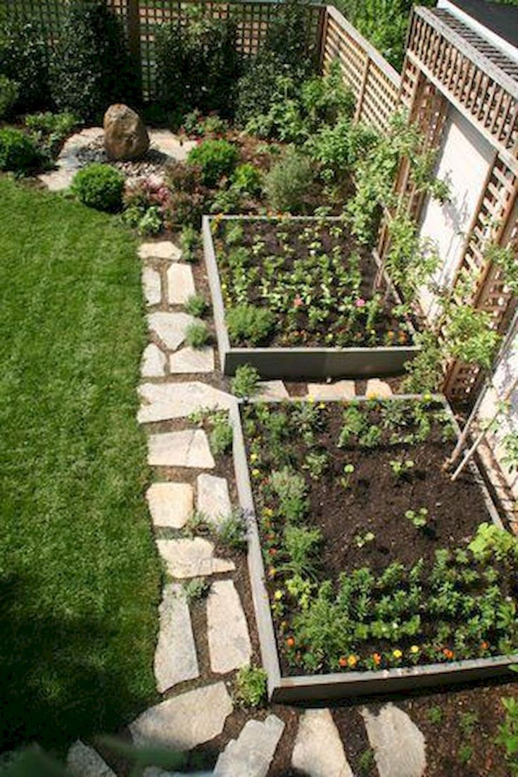Nice 50 Most Productive Small Vegetable Garden Ideas for Small Space architework...
