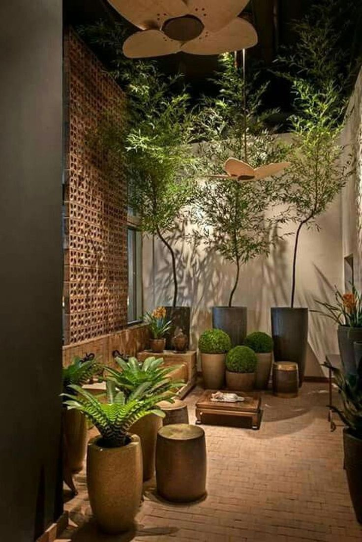 Small courtyard garden with seating area design and layout 67 #backyardlandscapi...