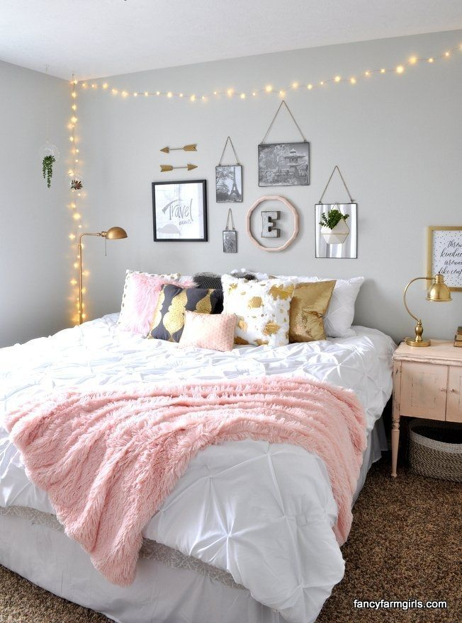 Pink #Gold #Room #Makeover # - #All #Things #Thrifty