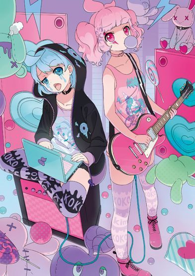Pastel goth anime girls:…    Pastel goth anime girls: Pastel goth anime girls:...