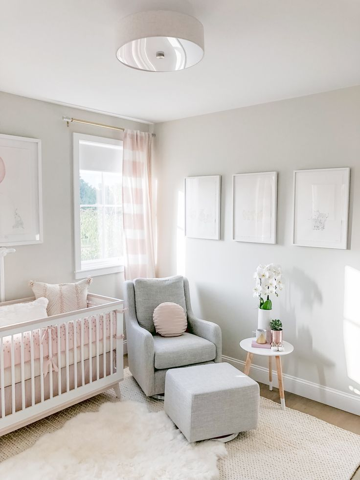 Baby Girl Weiss 'Nursery Reveal - #baby #Girl #Nursery #Reveal #Weiß