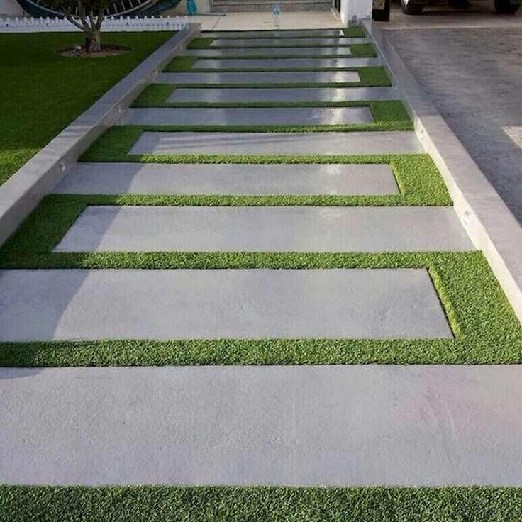 60 Awesome Garden Path und Walkway Ideas Design-Ideen und umgestalten #awesome #...