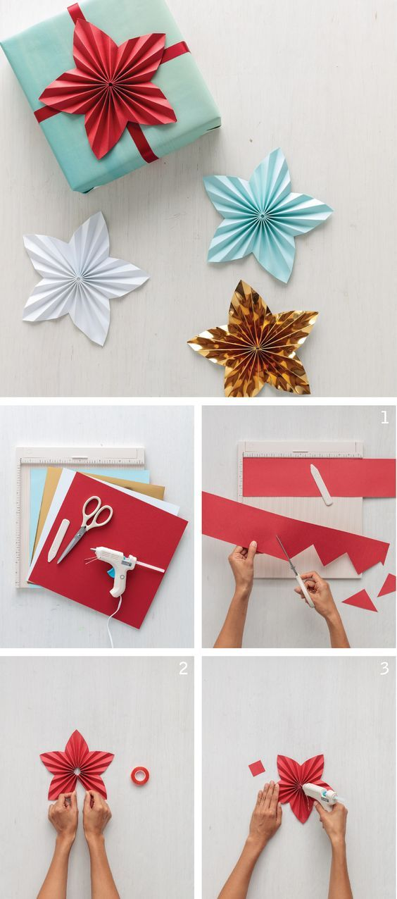 A beautiful new take on the medallion, this DIY star topper can make a plain gif...