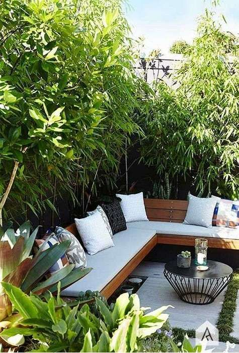 Bamboo Garden Ideas Backyards_11