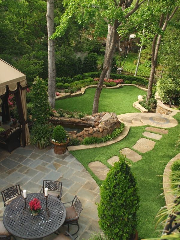 Beautiful garden design and landscaping ideas help transform yards and lawns in ...
