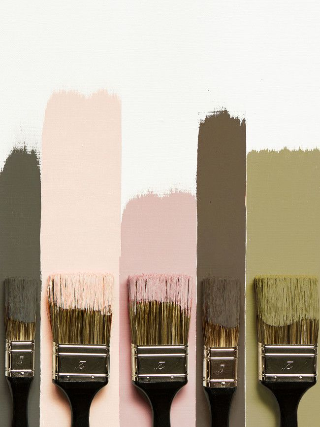 A Color Story: Army Green, Rose, Golden & Plum - Claire Brody Army Green, Rose, ...