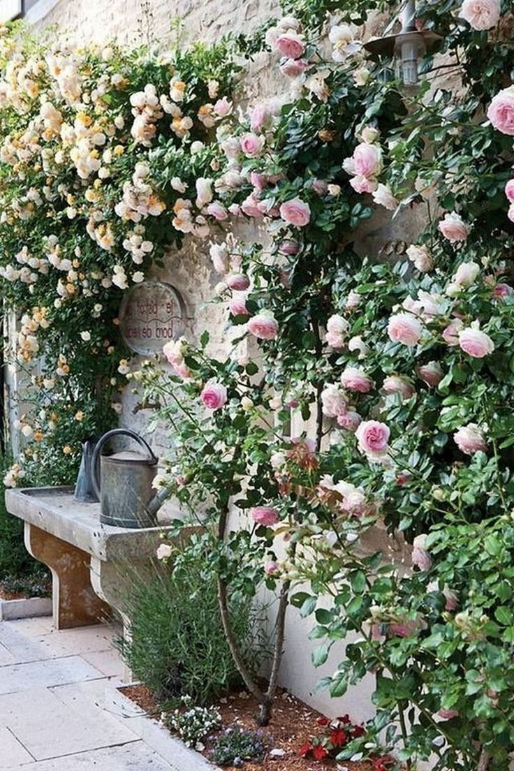 64 Awesome Secret Garden Design Ideas #gardendesign #gardenideas #secretgardende...