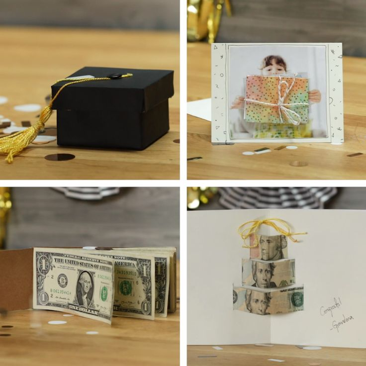 5 Creative Ways To Gift Money For Graduation #graduation #gift #DIY