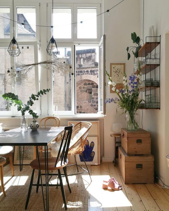 Large, airy windows are always a beautiful feature to any kitchen.
