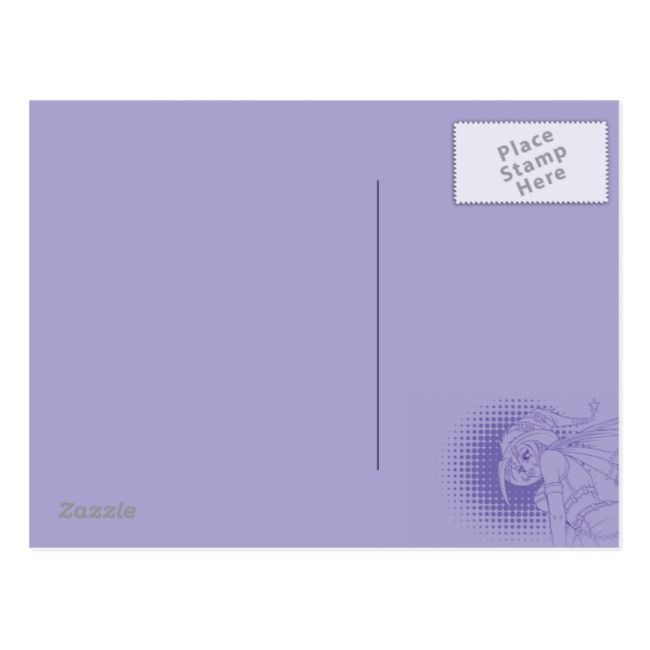 Goth Anime Witch Postcard , #spon, #Witch#Postcard#created#Shop #Ad