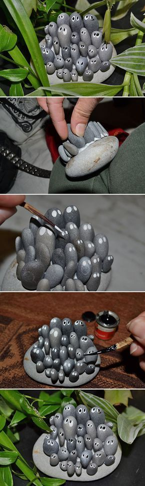 DIY Garden Trinkets • A round-up full of great ideas and tutorials! Including,...