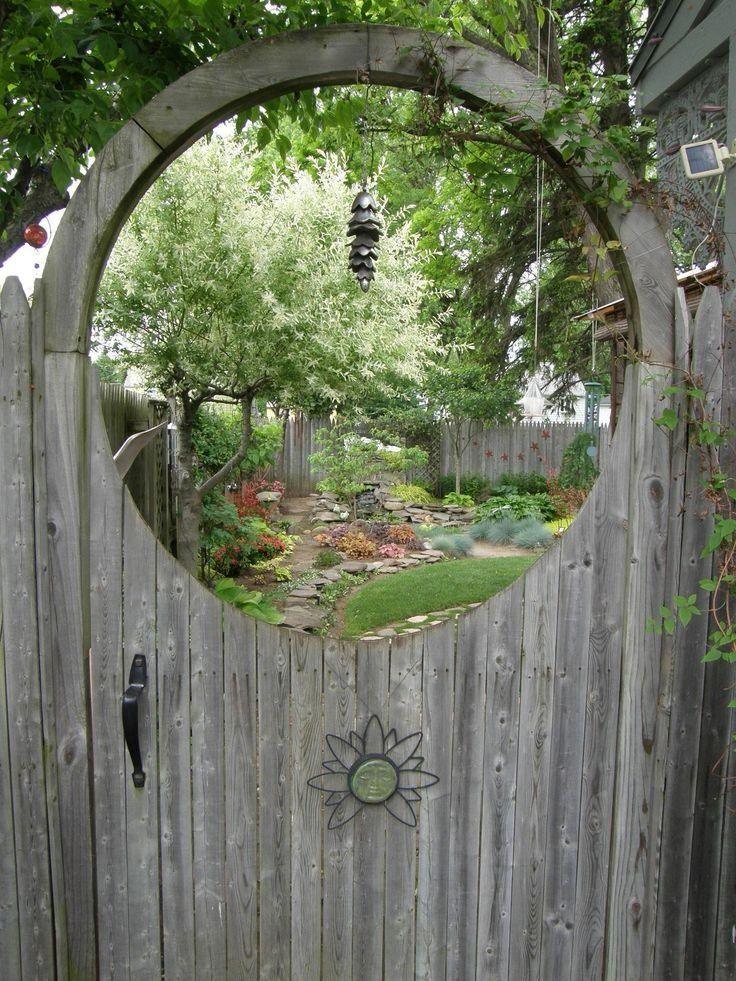 GREAT GARDEN GATE IDEAS