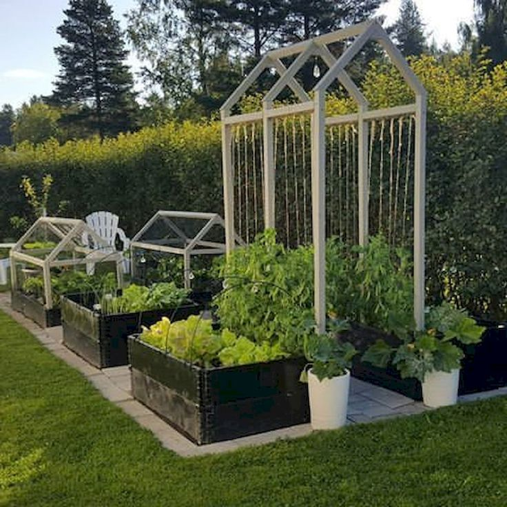 Nice 70 Affordable Backyard Vegetable Garden Design Ideas source link : decorade...