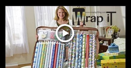 How to Store Your Gift Wrap and Wrapping Paper Vertical Like a PRO with Wrap iT