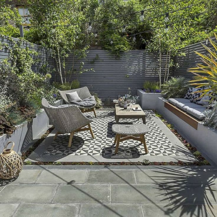 Nice 52 Latest Small Courtyard Garden Design Ideas For Your House. More at decor...