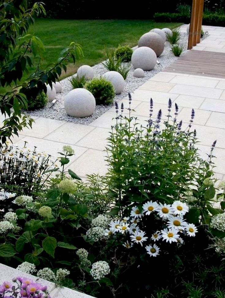 50 Awesome Modern Front Yard Design and Landscaping Ideas