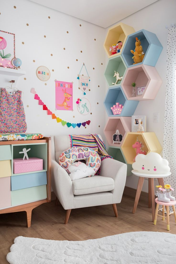 This is so cute and is the perfect room for your little daughter.🦄💜 -  #Cute #daughter #littl...