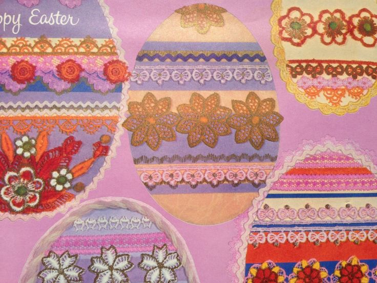 Vintage Gift Wrapping Paper Happy Easter Paper Photo | Etsy