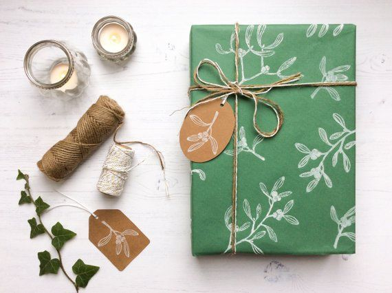 Add a rustic, natural touch to your presents this Christmas, with this bold and ...