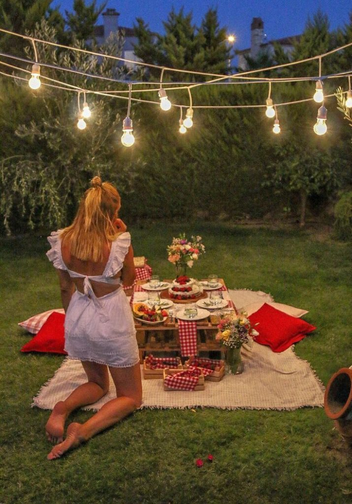 43 Backyard Garden Design-Ideen zum Valentinstag - #Backyard #Day #Design # ... ...