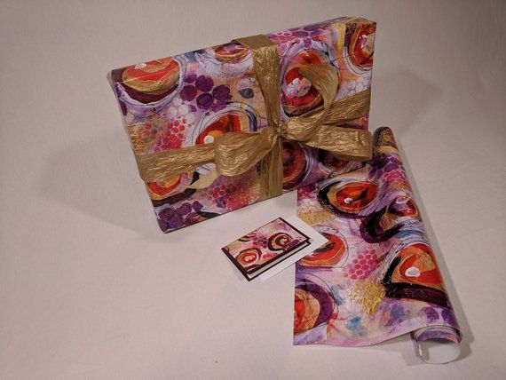 Mixed media Gift Wrap set/ Wrapping Paper set/ Gift wrap sheets