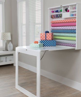 American crafts we r memory keepers fold down gift wrap station desk #american #...