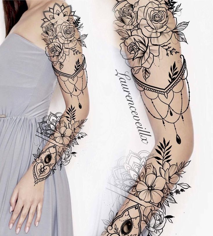 #tattoos #flowertattoos