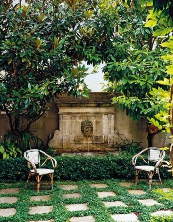 47 Lovely Small Courtyard Garden Design Ideas For Home - decoomo.com