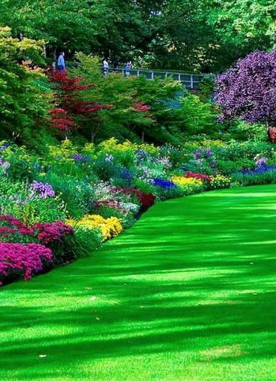 Canada - The beautiful Butchart Gardens of Vancouver Island