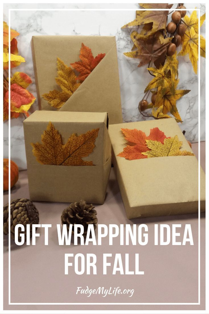 What a fun way to wrap your gifts! And you don't need a lot of supplies. Take a ...