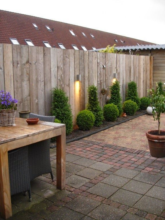 Zaun Idee #FenceIdeas #fenceideas #gartentipps
