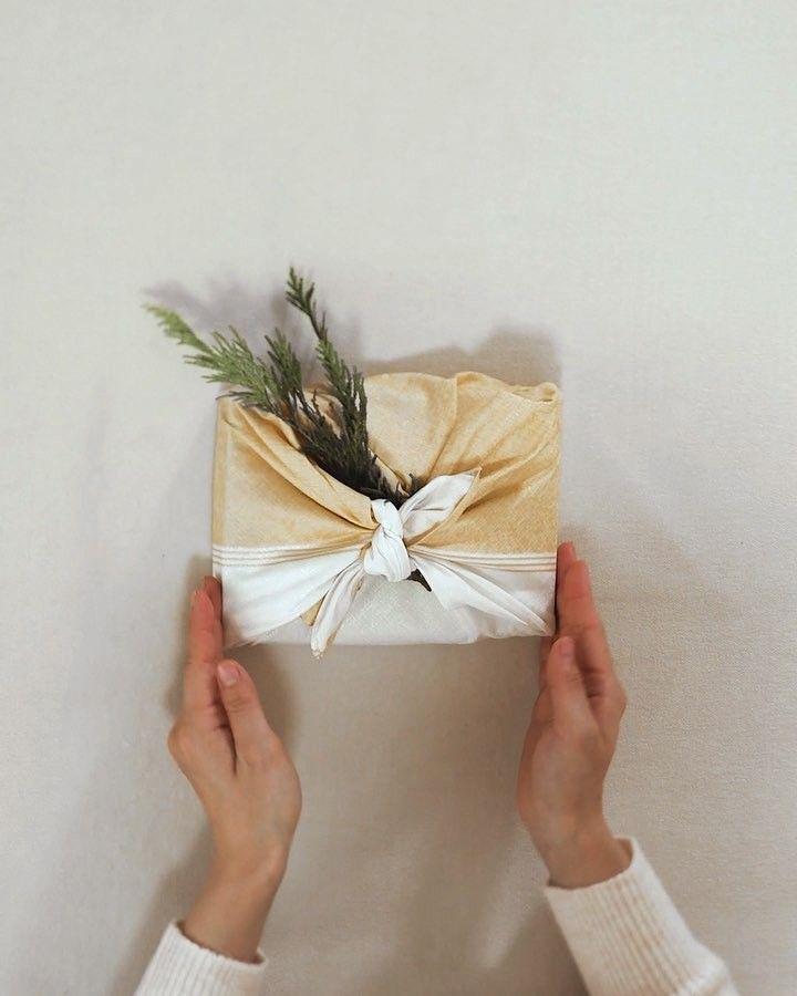 Furoshiki is the art of Japanese gift wrapping. When using furoshiki, the first ...