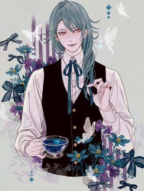 victorian goth anime boy - Google Search