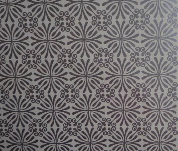 Vintage 1970s Wrapping Paper Silver All Occasion Gift Wrap- 2 Sheets Silver Star...