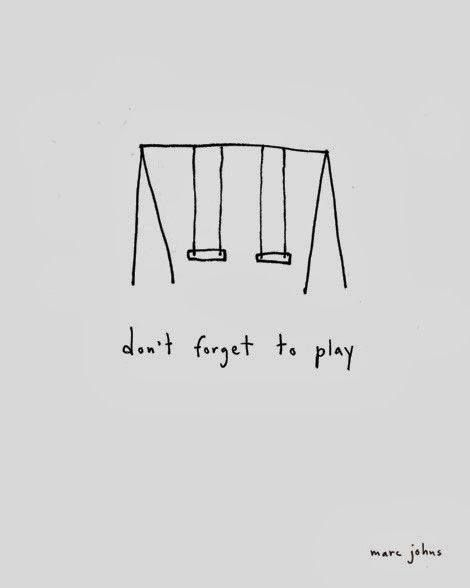 #Too true: don't forget to play #swing #play #beachwood