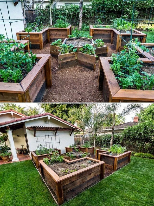 Garden Design Ideas: Plan your Perfect Garden #diy #raisedbeds #gardenideas #gar...