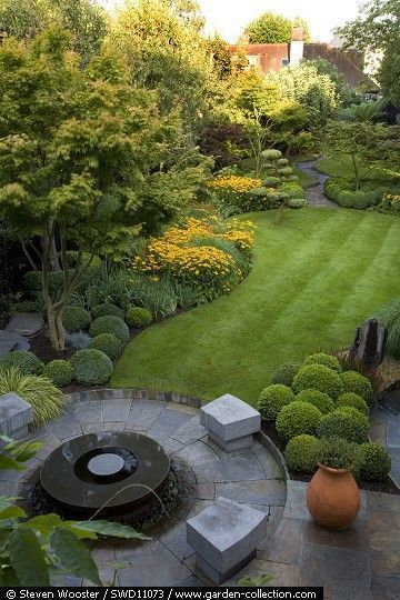50 Awesome Front Yard Side Yard und Hinterhof Land / #Awesome #Front #GartenGest...