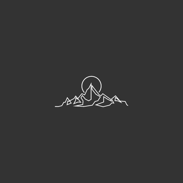 Commissioned line mountain #flashbynoel #illustration #tattoo - - #Uncategorized