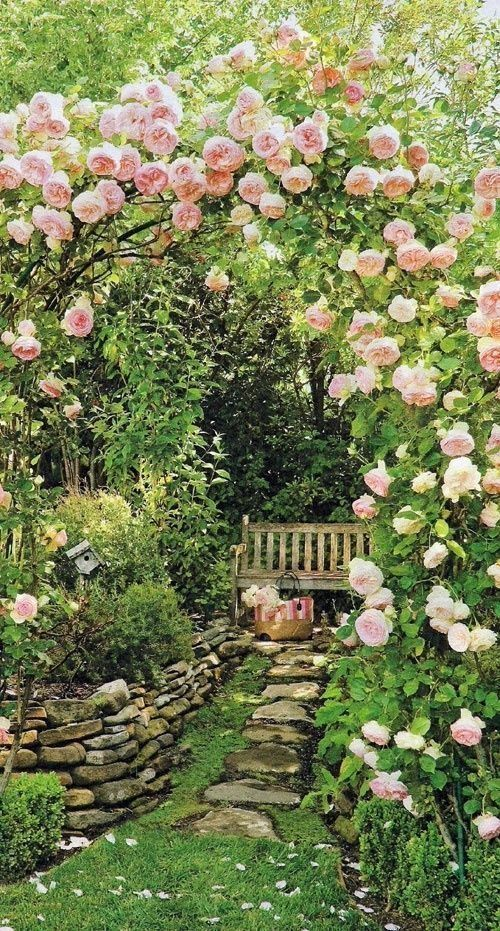 dreamy garden design, garden ideas, backyards. garden space, romantic garden wit...