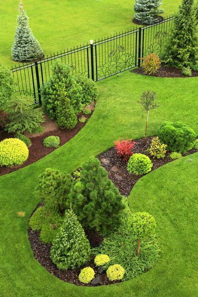 50 Awesome Front Yard Side Yard und Back Yard Landschaftsgestaltung Design-Idee